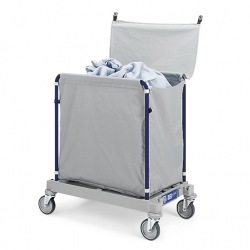 Vozík na sběr špinavého prádla TTS Hotel 916