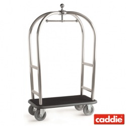 Bagážový vozík Caddie Transbag One IN, matná nerez