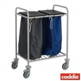 Vozík na sběr prádla Caddie Trisac 2