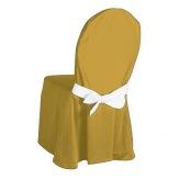Návlek na židle OPERA, zlatá