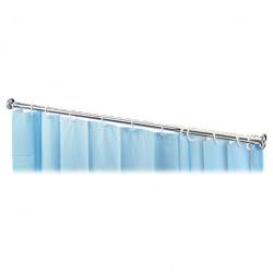 Tyč pro sprchový závěs, 200 cm, chrom