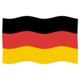 Vlajka Německo, 100x150 cm