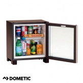 Minibar Dometic RH429LDAG, černý, prosklené dveře