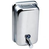 Dávkovač tekutého mýdla DM1000, lesklá nerez