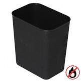 Koš bezpečnostní SLT-07003, plast, černý
