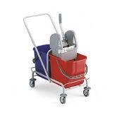 Úklidový vozík TTS Roll 50, chrom