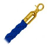 Lano Rope pletené BP240EG BLU, modré/zlaté