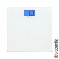 Osobní váha Brabantia Glass, bílá