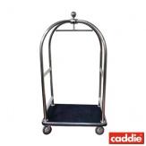Bagážový vozík Caddie Transbag Eco IN, matná nerez