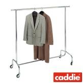 Vozík pro převoz šatstva Caddie Stender Easy, chrom