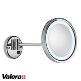 Kosmetické zrcátko Valera Optima Light One, LED osvětlení, průměr 21,6 cm