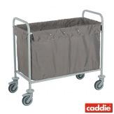 Vozík na sběr prádla Caddie Sac, šedá