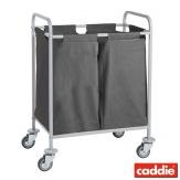 Vozík na sběr prádla Caddie Ibiza Trisac 2