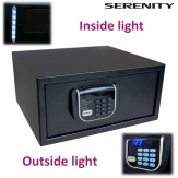 Hotelový sejf Serenity Laptop, černý