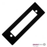 Krycí podložka Standard Black pro zámky Gaudi 2, plast