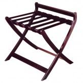 Kufrbox 866183, dřevěný s opěrkou, mahagon